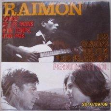Discos de vinilo: RAIMON. Lote 26685309