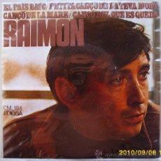 Discos de vinilo: RAIMON. Lote 26685316