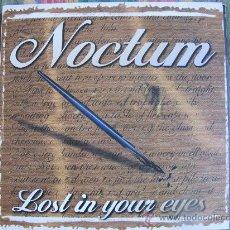 Discos de vinilo: MAXI - NOCTUM - LOST IN YOUR EYES / BRAIN MIX - BOY RECORDS 1998. Lote 21835929