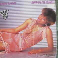 Discos de vinilo: MAXI - SHARON BENSON - HOLD ON I'M COMIN / IN YOUR EYES - PROMOCIONAL, SPLASH RECORDS 1983. Lote 21836103