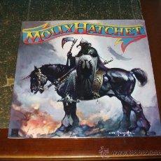 Discos de vinilo: MOLLY HATCHET LP SAME PROMO RARO HEAVY METAL. Lote 26964332