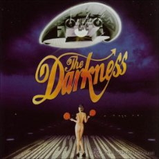 Discos de vinilo: LP THE DARKNESS PERMISSION TO LAND VINILO HEAVY METAL HARD ROCK. Lote 103368906