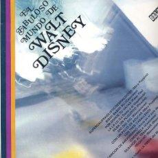 Discos de vinilo: 10 PULGADAS - EL FABULOSOS MUNDO DE WALT DISNEY - CORO INFANTIL LA TREPA (ORLADOR 32490). Lote 23615819