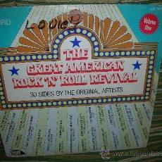 Discos de vinilo: THE GREAT AMERICAN ROCK N ROLL REVIVAL-VOLUME ONE LP - ORIGINAL U.S.A. LAURIE 1980 - MONO-. Lote 55688955