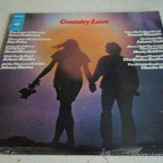 Discos de vinilo: 'COUNTRY LOVE' (LYNN ANDERSON - RAY PRICE - CHARLIE RICH - JOHNNY CASH - DAVID HOUSTON...) 1971. Lote 21929406