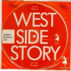 Discos de vinilo: WEST SIDE STORY - SINGLE VINILO PICTURE DISC - LTD 1000 COPIAS - NUEVO - FOTODISCO MUY RARO!!. Lote 224802920