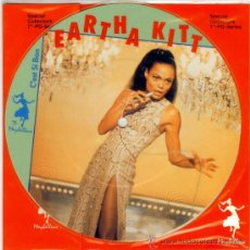 Disques de vinyle: EARTHA KITT * EN FRANCES * SINGLE VINILO PICTURE * LTD 1000 COPIAS * NUEVO * FOTODISCO MUY RARO!!. Lote 110419791