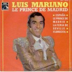Discos de vinilo: LUIS MARIANO -- ESPAÑA + 3 -- EP 1969. Lote 27426833