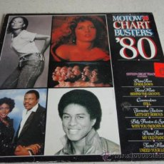 Discos de vinilo: 'MOTOWN CHART BUSTERS '80' (DIANA ROSS - COMMODORES - BILLY PRESTON & SYREETA - JERMAINE JACKSON... Lote 21946587