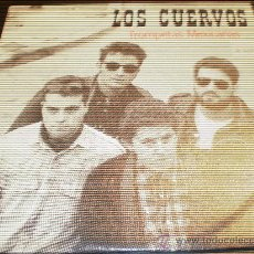 Discos de vinilo: LOS CUERVOS-TROMPETAS MEXICANAS-AÑO 1988.DISCOS MEDICINALES,CON HOJA PROMOCIONAL.. Lote 26756089