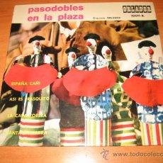 Discos de vinilo: PASODOBLES EN LA PLAZA ORQUESTA ORLADOR ESPAÑA CAÑI.ASI ES FRASQUITO.LA CAPA TORERA. Lote 21961118