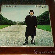 Discos de vinilo: ELTON JOHN LP A SINGLE MAN. Lote 21962630