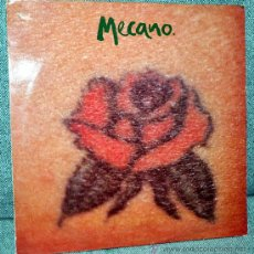 Discos de vinilo: MECANO - MAXI-SINGLE VINILO 12'' - UNA ROSA ES UNA ROSA - CON 3 VERSIONES - CANTAN EN ITALIANO. Lote 27594486