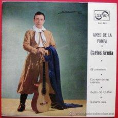 Discos de vinilo: CARLOS ACUÑA - AIRES DE LA PAMPA - EP ZAFIRO 1961 BPY. Lote 22085998
