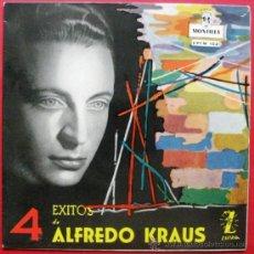 Discos de vinilo: ALFREDO KRAUS - 4 EXITOS DE - EP MONTILLA 1959 BPY. Lote 22086166