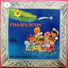 Discos de vinilo: CAPILLA CLASICA POLIFONICA DEL F.A.D. - VILLANCICOS - EP REGAL 195? BPY. Lote 27438833