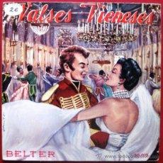 Discos de vinilo: ORQUESTA VIENESA DE CONCIERTOS - VALSES VIENESES VOL. 2 - EP BELTER 1958 BPY. Lote 22267000