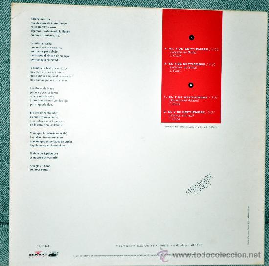 Discos de vinilo: CONTRAPORTADA - Foto 2 - 26166166