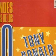 Discos de vinilo: LP TONY RONALD - GRANDES SOLISTAS DE LOS 60 . Lote 21971744