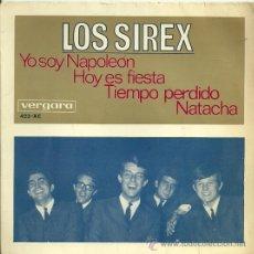 Discos de vinilo: LOS SIREX EP SELLO VERGARA AÑO 1966. Lote 21986462