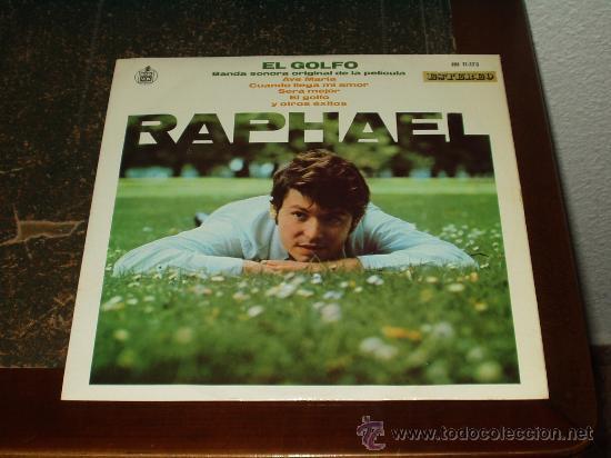 RAPHAEL LP EL GOLFO BANDA SONORA ORIGINAL (Música - Discos - LP Vinilo - Solistas Españoles de los 50 y 60)