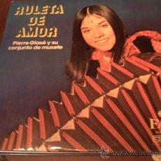 Discos de vinilo: PIERRE GLASSÉ Y SU CONJUNTO DE MUSETE - RULETA DE AMOR - DIRESA - DLP-1183 - ESPAÑA - 1973 - PEPETO. Lote 22002034