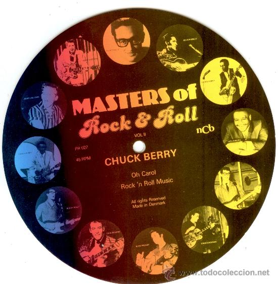 Discos de vinilo: CHUCK BERRY - SINGLE PICTURE 2 TEMAS POR 1 CARA NUEVO FOTODISCO - MADE IN DINAMARCA - ULTRARARE!! - Foto 2 - 30520560