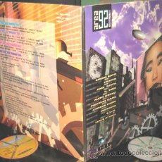 Discos de vinilo: AREA 92 - 2 LP - CHIMO BAYO / HEAVEN / JOSE DJOTA / D. SING / MATO GROSO / PLEASURE GAME COMO NUEVO. Lote 25224485