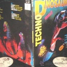 Discos de vinilo: TECHNO DINOSAURIUS - 2 LP - B.Y.N 1993 - QUIQUE TEJADA / ACE OF BASE / RAMIREZ / 2 UNLIMITED. Lote 22018441