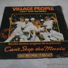 Discos de vinilo: VILLAGE PEOPLE - CAN´T STOP THE MUSIC - RCA 1980. Lote 22021906