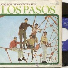 Discos de vinilo: SINGLE 45 RPM / LOS PASOS / OJO POR OJO /// EDITADO POR HISPAVOX . Lote 22024079