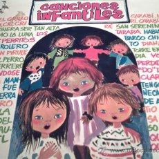 Discos de vinilo: CANCIONES INFANTILES.. EL GRILLO CRI,CRI,CRI, CARABI HURI CARABI HURA.. LP 1972/ PEPETO. Lote 22039187