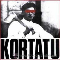 Discos de vinilo: LP KORTATU SKA ROCK RADIKAL VASCO PUNK SPANISH VINILO 180G + 2 TEMAS EXTRAS. Lote 207161305