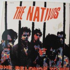 Discos de vinilo: THE NATIVOS - EP 1986 - EX-LOS MOCKERS - PROD. PAUL COLLINS. Lote 22039279