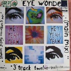 Discos de vinilo: MAXI - THE APPLES - EYE WONDER (3 VERSIONES) - EPIC RECORDS 1991. Lote 22050208