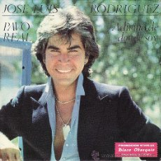 Discos de vinilo: JOSE LUIS RODRIGUEZ - PAVO REAL - SINGLE. Lote 25483230