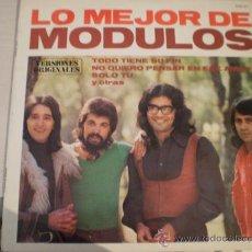 Discos de vinilo: LP. LO MEJOR DE LOS MODULOS. AÑO 1980. EXCELENTE CONSERVACION!!!!!!!!!!!. Lote 26109532