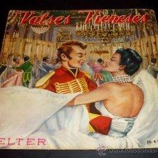 Discos de vinilo: VALSES VIENESES - SINGLE BELTER 1961. Lote 22072222