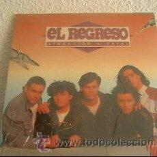 Discos de vinilo: EL REGRESO - ATRACCIÓN FATAL - LP BB RECORDS ESPAÑA 1991 - NUEVO!!! - LS2. Lote 22078366