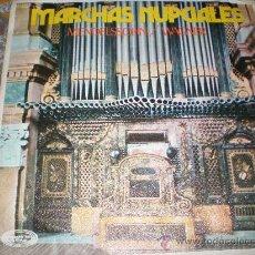 Discos de vinilo: MARCHAS NUPCIALES-MENDELSSOHN Y WAGNER-MADE IN SPAIN IN 1971.. Lote 27635597