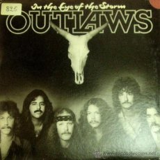 Discos de vinilo: OUTLAWS-ON THE EYE OF THE STORM LP 1979 (USA). Lote 22102462