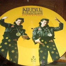 Discos de vinilo: KID PAUL & THE WEIRD CLUB FEATURING HITMAN. ACID IN MY HOUSE. BCM RECORDS. PICTURE DISC.(#). Lote 22105259