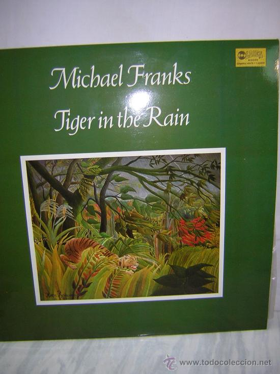 LP MICHAEL FRANKS - TIGER IN THE RAIN (Música - Discos - LP Vinilo - Cantautores Extranjeros)