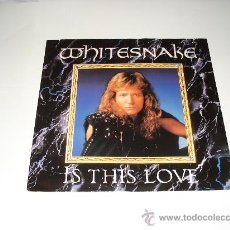 Discos de vinilo: WHITESNAKE / IS THIS LOVE - STANDING IN THE SHADOWS (REMIX)- NEED YOUR LOVE SO BAD (REMIX-EP 3 TEMAS. Lote 26578848