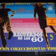 Discos de vinilo: LOS BRINCOS - MEJOR + A MI CON ESAS - SINGLE 1978 EDICIÓN COLECCIONISTAS. Lote 26672142