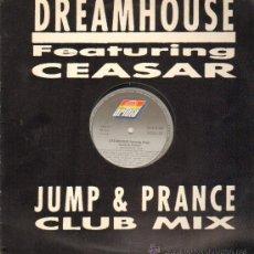 Discos de vinilo: DREAMHOUSE FEATURING CEASAR - JUMP & PRANCE - MAXISINGLE 1991. Lote 22133806