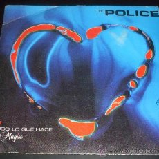 Discos de vinilo: THE POLICE - EVERY LITTLE THING SHE DOES IS MAGIC + SHAMBELLE - SINGLE 1981. Lote 27286695