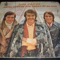 Discos de vinilo: LOS PAYOS - SEÑOR DOCTOR + UNA PERLA EN EL MAR - SINGLE 1970. Lote 22146170