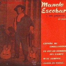 Discos de vinilo: MANOLO ESCOBAR Y SUS GUITARRAS - 1960. Lote 22171595