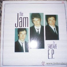 Discos de vinilo: THE JAM-THE FANFARE EP-4 TRACKS EP P/S ORIGINAL DEMOS + THE WHO COVER.. Lote 27639350